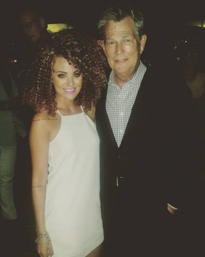 With multi grammy Winner David Foster at our Show in Bangkok, Thailand