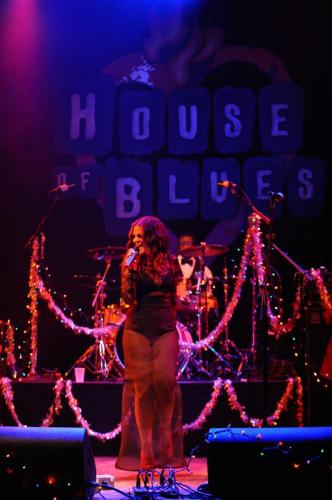 Show at House of Blues, Sunset Strip, Hollywood CA