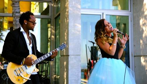 "Performance at ""A Swedish affair"" event in Hollywood Hills, CA"